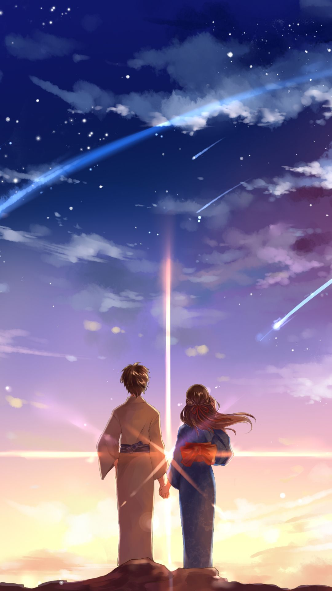 2400x1824 Anime Your Name Kimi No Na Wa Mitsuha Miyamizu Taki Tachibana Wallpaper Your Name Anime Kimi No Na Wa Wallpaper Kimi No Na Wa