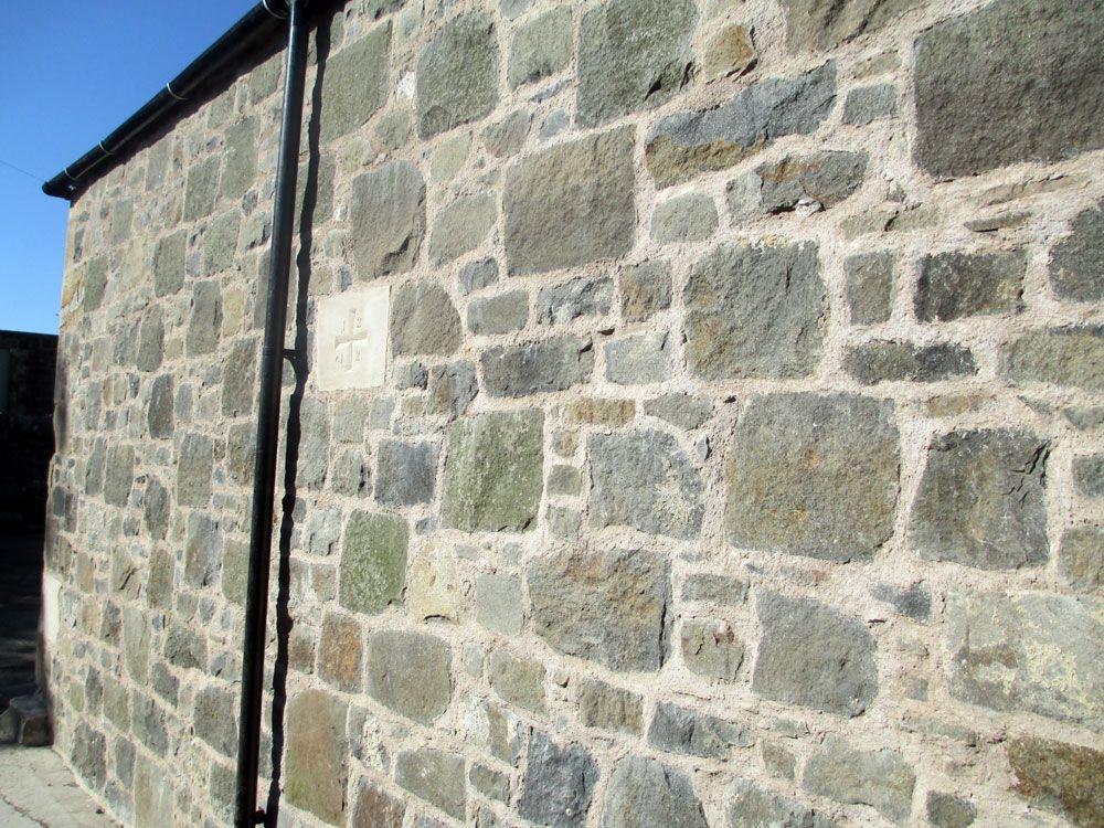 Rubble Wall Garden Steps Garden Wall Walling