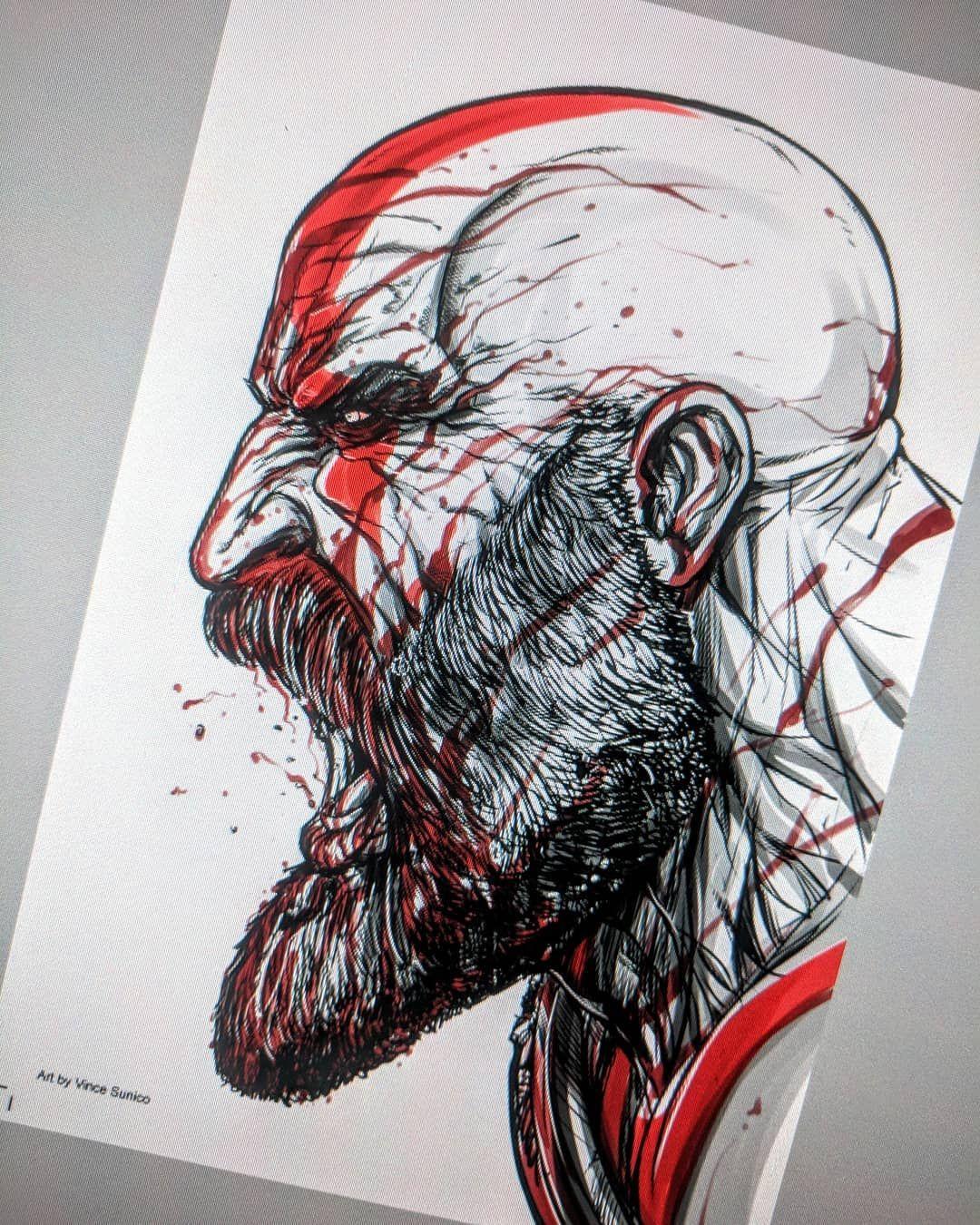 Vince Sunico On Instagram Kratos Digital Stuff Using Clipart