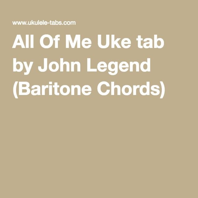 Beautiful All Of Me John Legend Guitar Chords Images - Basic Guitar ...