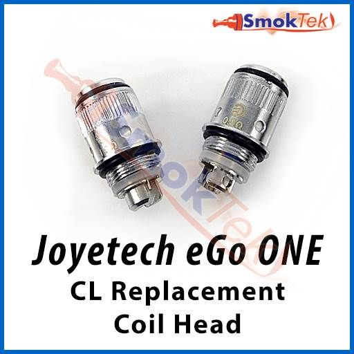 Joyetech eGo ONE CL Replacement Coil Head - The eGo ONE CL replacenent coil heads are intended for the Joyetech eGo ONE atomizer, included in the eGo ONE Standard and XL kits. They cater to your personal preference by offering different vaping experiences.