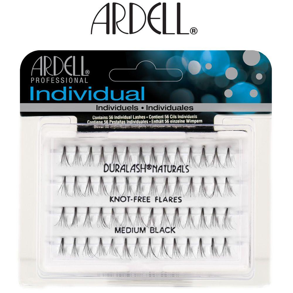 Ardell Individual Knot Free Naturals Medium Black