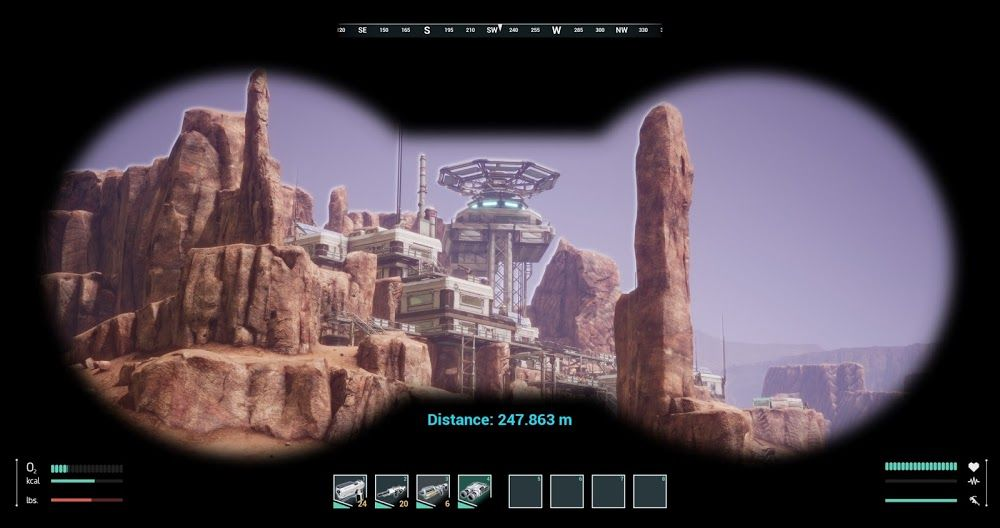 Memories Of Mars Open World Survival Game Set On Mars Human