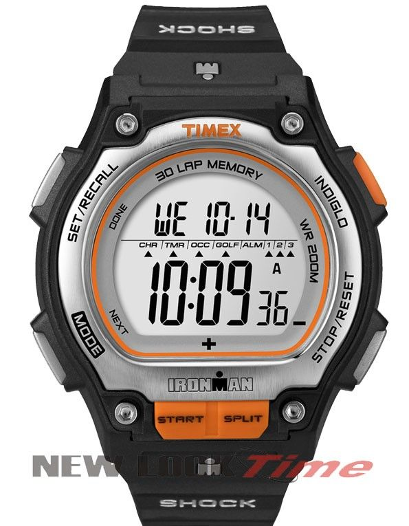 17cbcb2085c Relógio TIMEX IronMan Shock 30 Lap T5K582