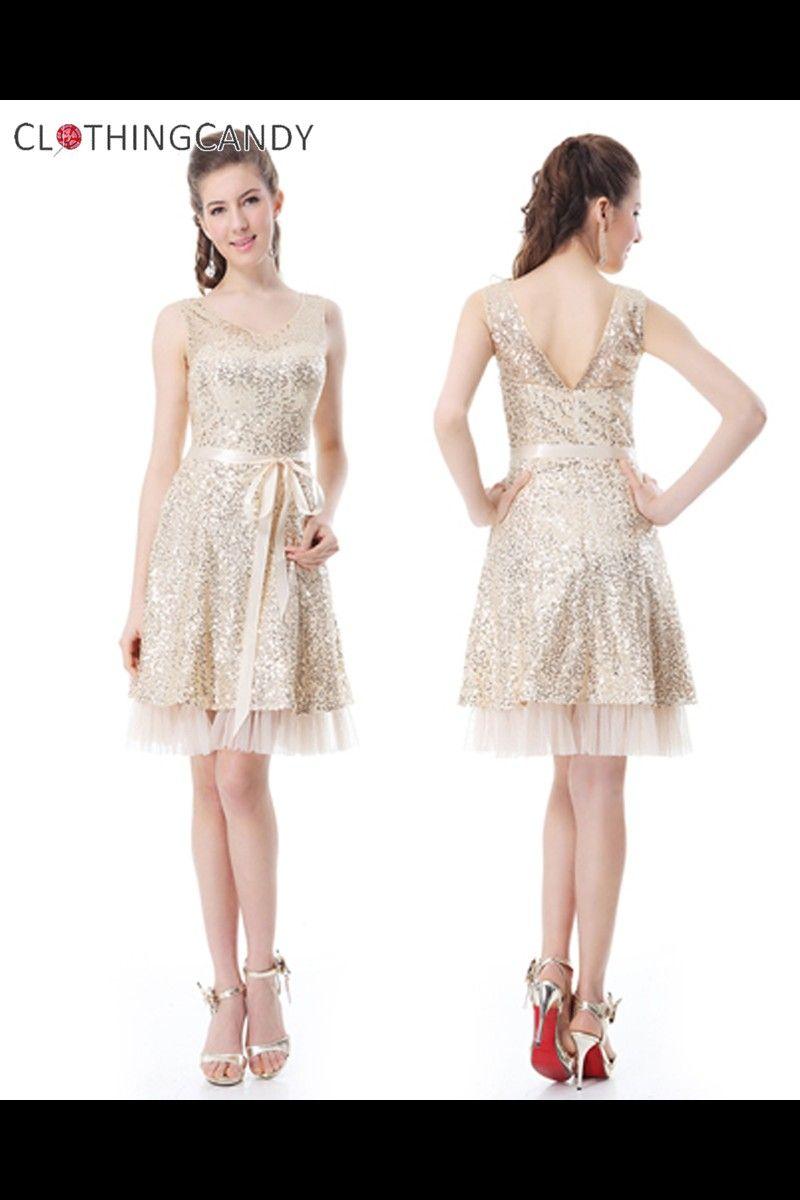Cream Gorgeous Cocktail Dress Shop prom dresses sizes XS to XXXL ...