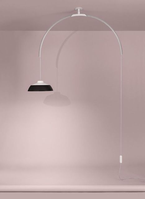 One of the designs by Gino Sarfatti brought back by Flos in a collection called Edition No. 1.