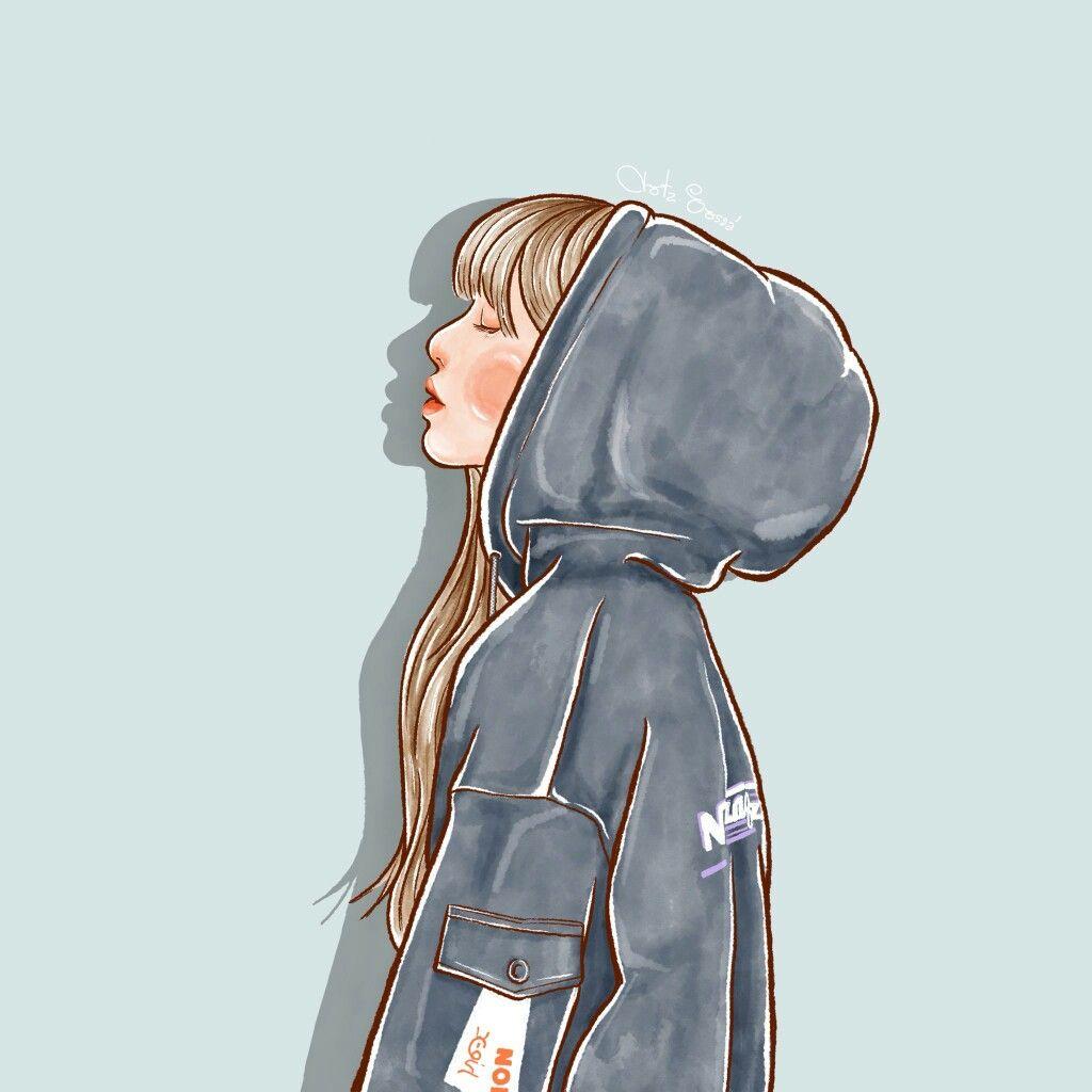 "Pin Oleh Arshiya Dadsab Di ̖´ì""œ ̕"" Ilustrasi Karakter Seni Animasi Gadis Animasi"