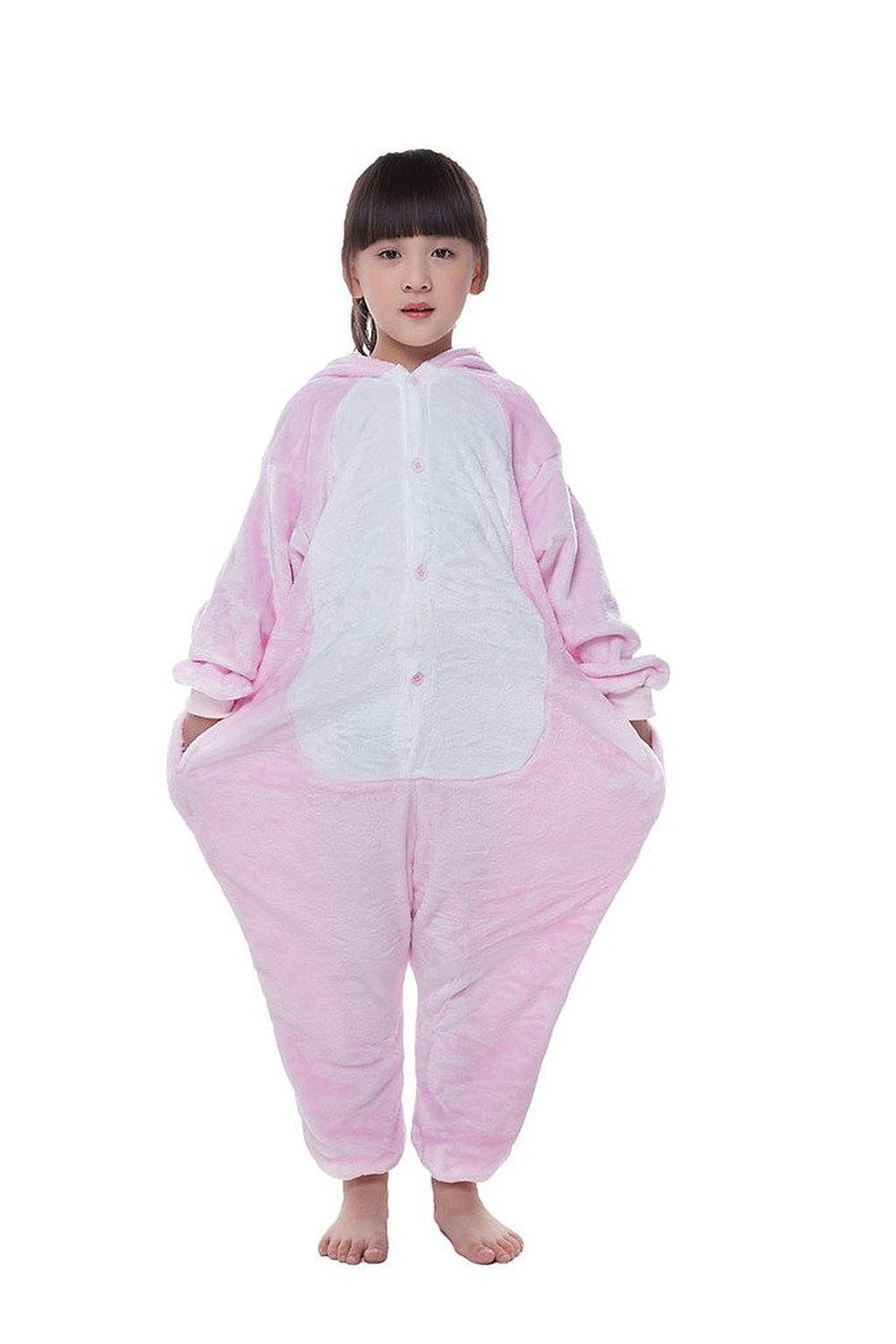 Pajamas Anime Adult Animal Onesie Pig Cosplay Kids