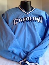 North Carolina Tar heels Top Mens  Blue Pullover Windbreaker STARTER
