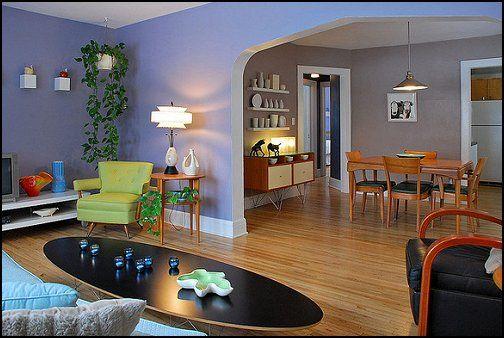 Foyers · Mid Century Modern Bedroom Decor Retro