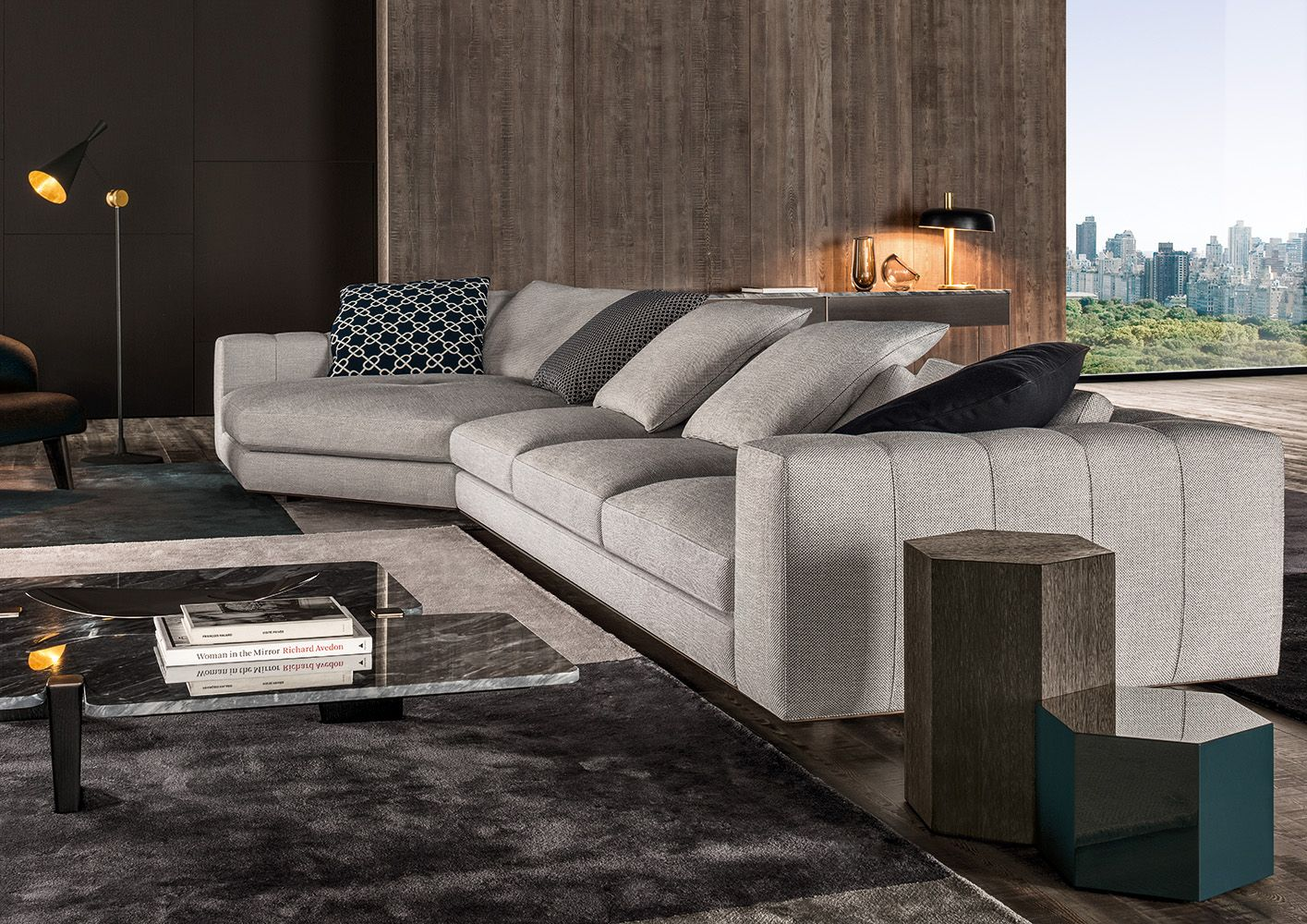 "Photo of Minotti Ipad – FREEMAN ""DUVET"" 