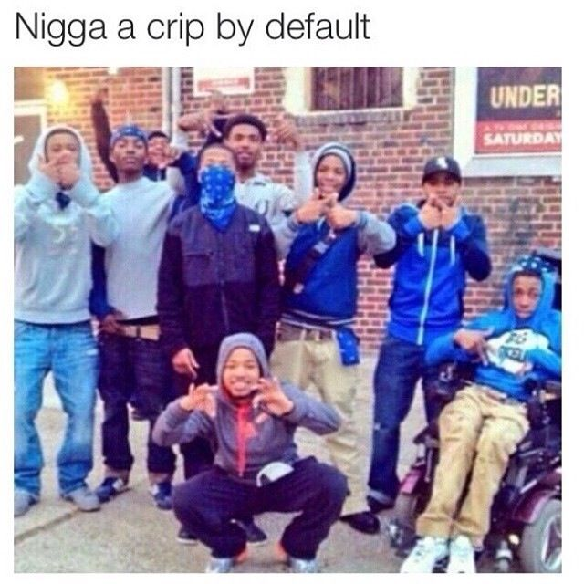 ❥♚..crip by default
