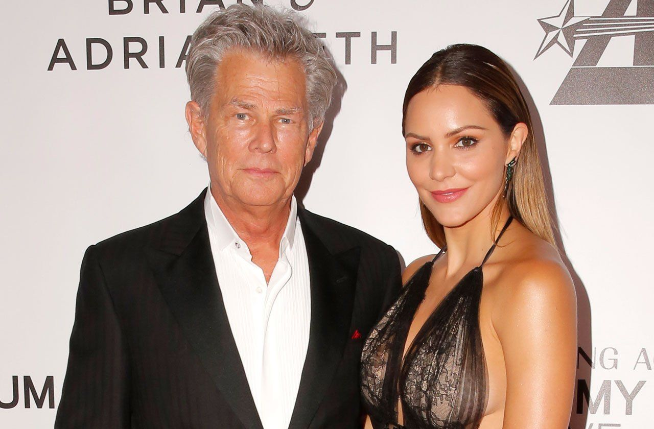 Katharine Mcphee 33 Years Old In Love Of David Foster 68 Years Old Doubt Finally Lifted Katharine Mcphee The Fosters Celebrity News