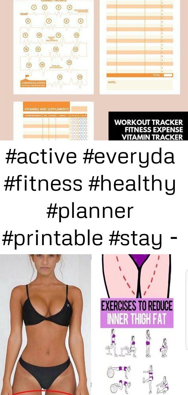 #active #everyda #Fitness #healthy #Planner #Printable #Stay #active #everyda #Fitness #healthy #Pla...