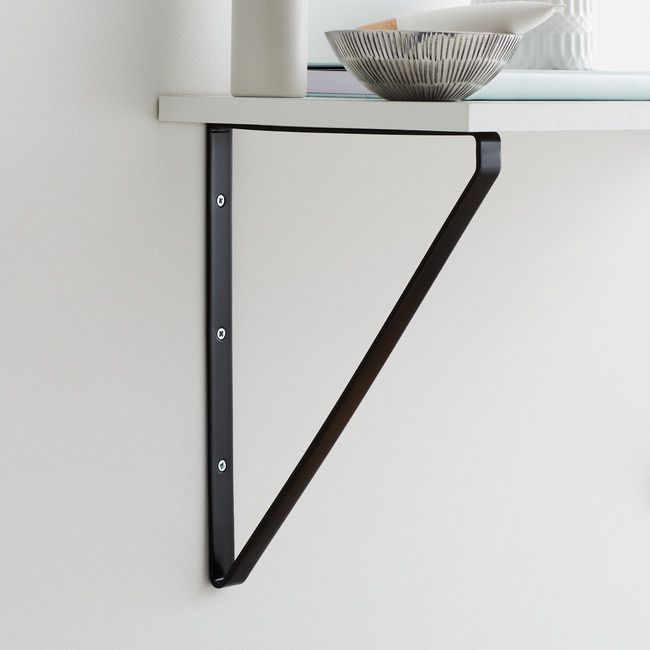 Wspornik Form Clever 200 X 280 Mm Czarny Wsporniki I Uchwyty Do Polek Home Decor Decor Furniture