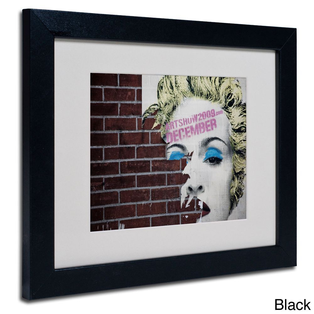 Yale Gurney 'Madonna' Framed Matted Art