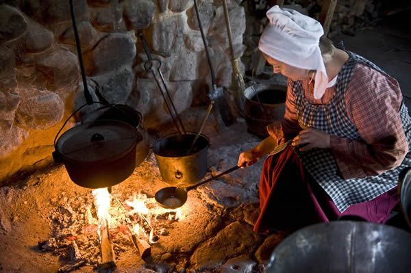 The Pioneer Kitchen of the 1800s | Primitive Kitchens | Pioneer