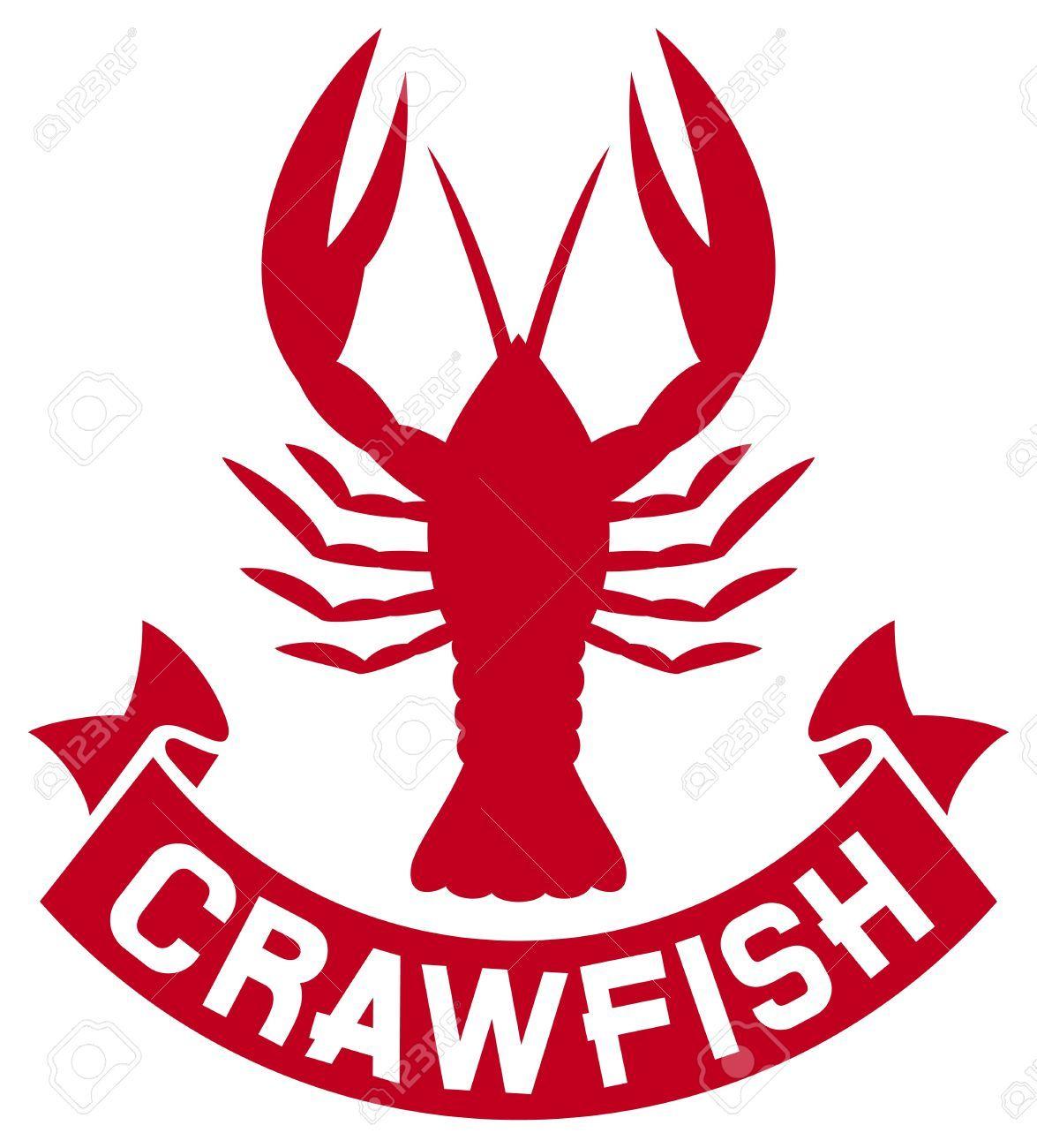 Crawfish Crawfish Label Crawfish Silhouette Crayfish