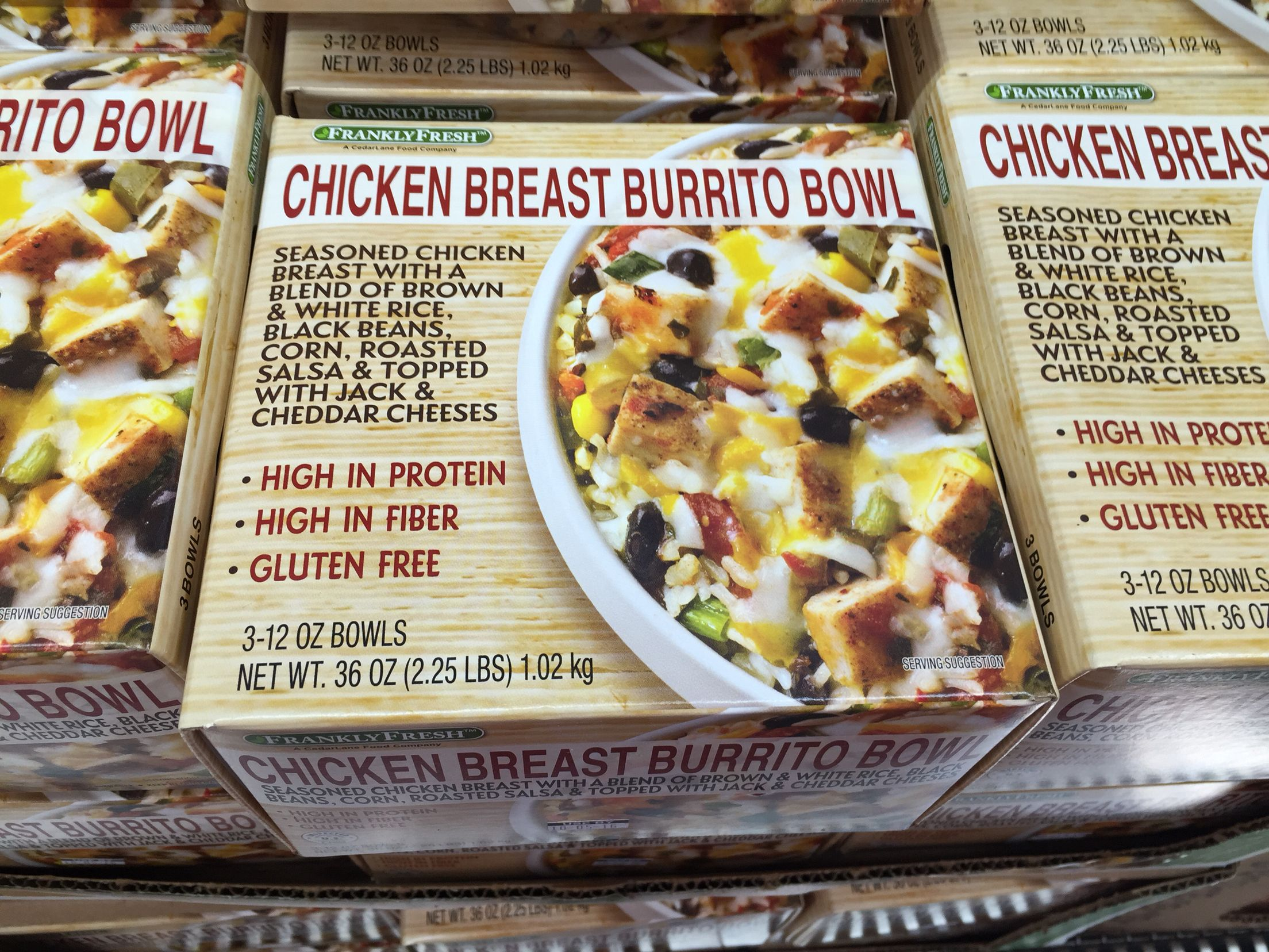 Chicken Burrito Bowl Is 390 Calories Add Side Salad Or