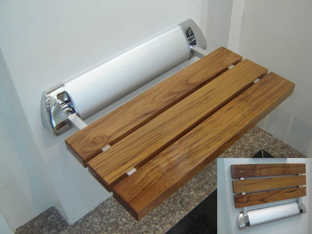 Amerec Steam Bath Generator Teak Wood Shower Seat for Steam Showers ...