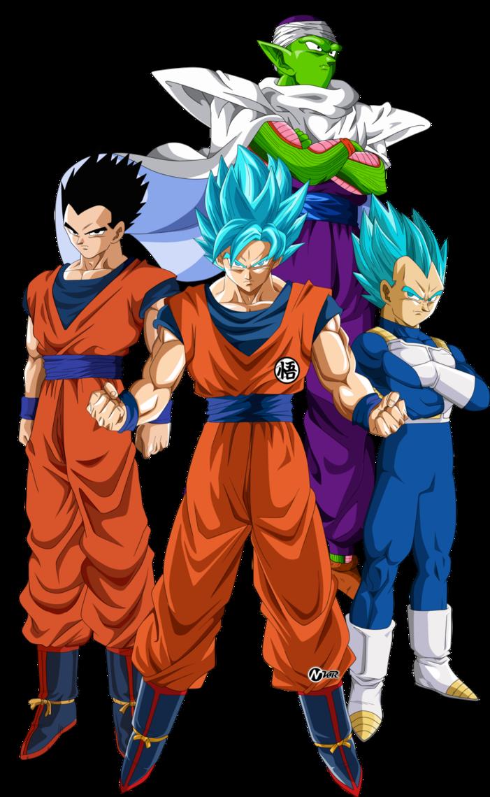 Guerreros Z By Naironkr Dragon Ball Super Dragon Ball Dragon Ball Goku
