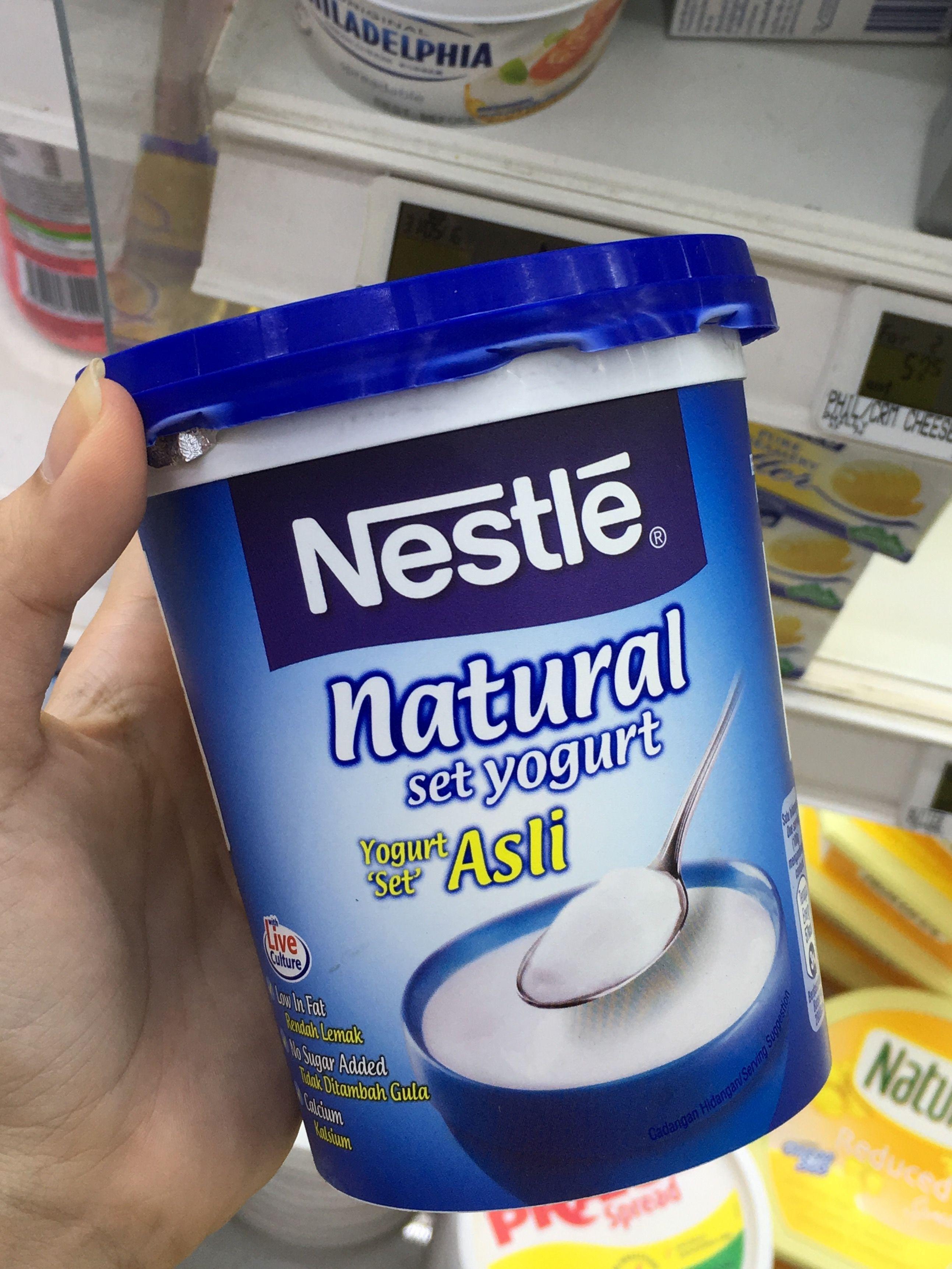Name Natural Set Yogurt Brand Nestle Weight 470g Packaging Pp