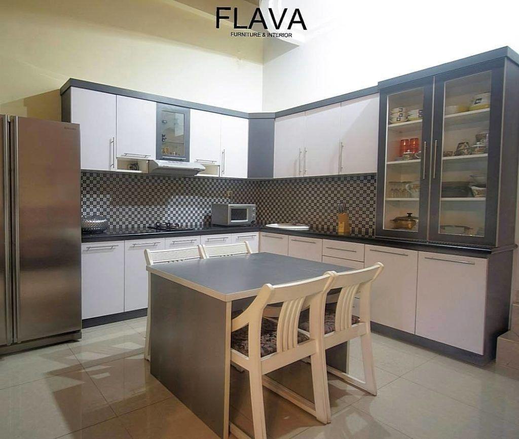 Kitchen Set Mini Bar Murah   Modern kitchen set, Tiny kitchen ...