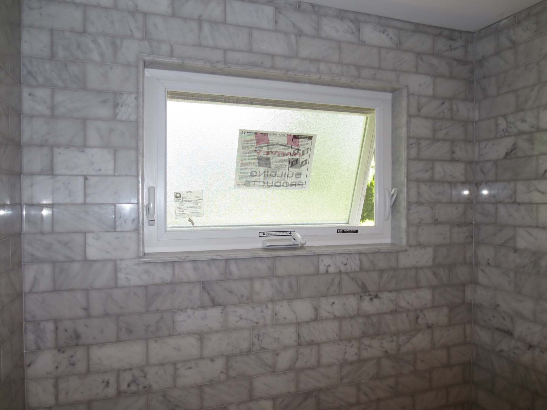 Bathroom remodeling ideas with window over tub shower Best way to tile around a bath