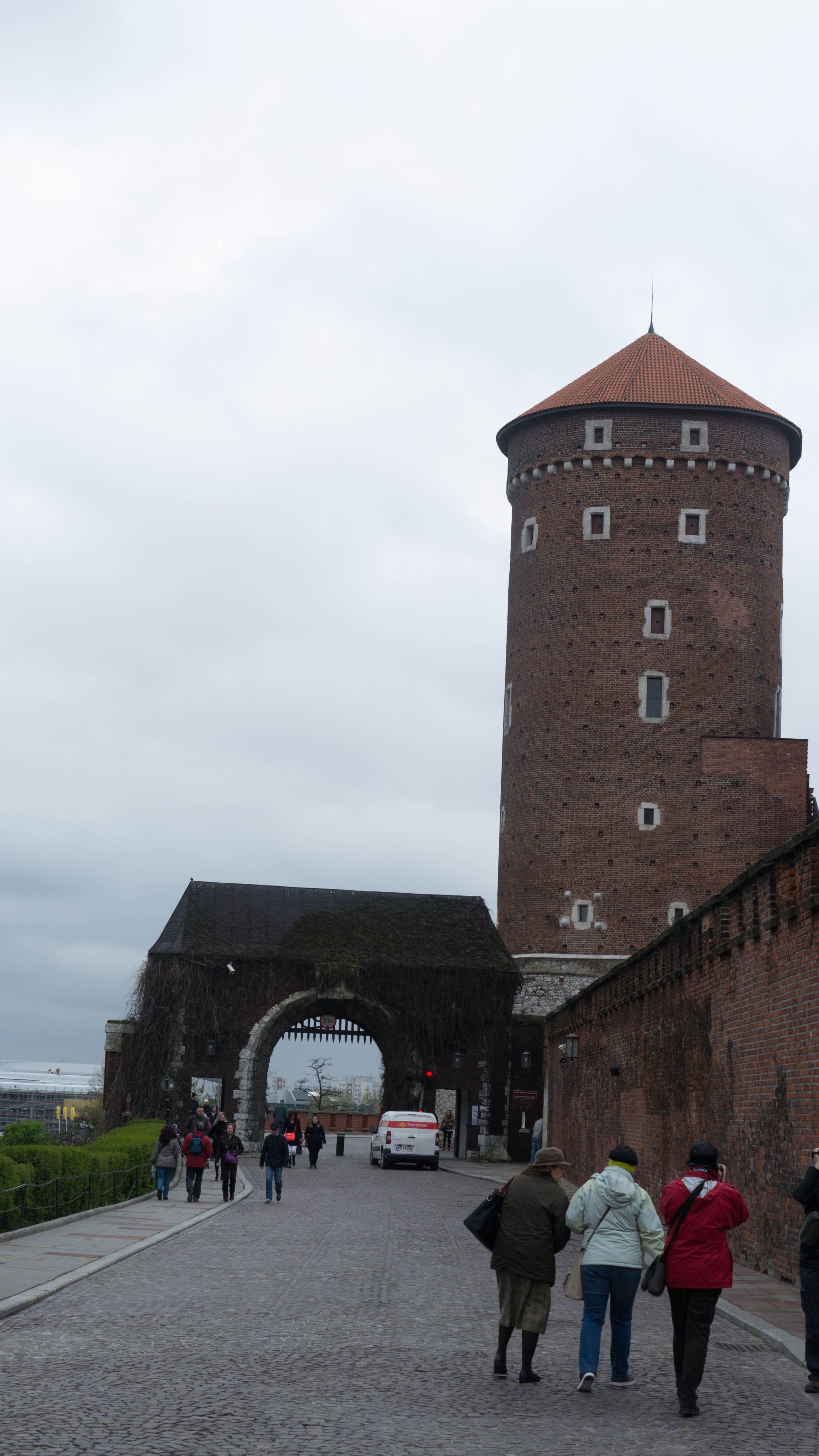 Torre Sandomierska en el Castillo de Cracovia