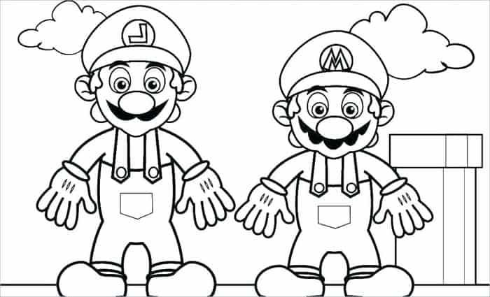 Mario Brothers Coloring Pages from Mario Coloring Pages ...