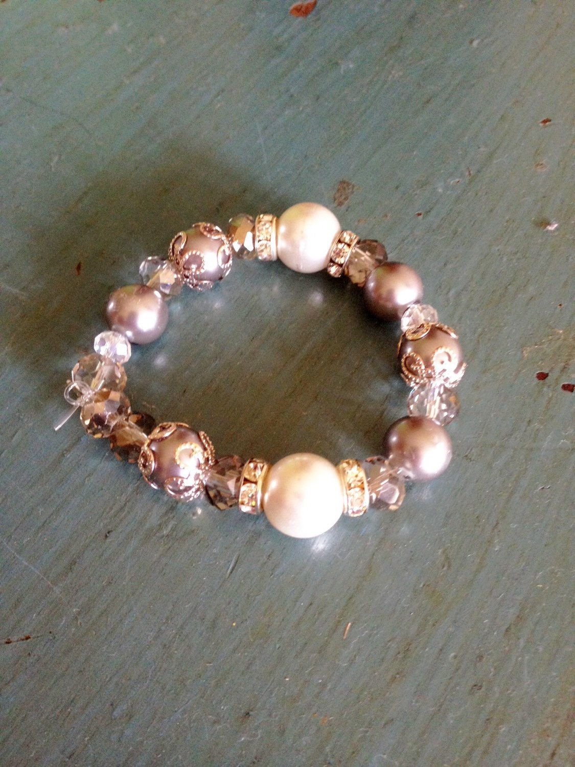 A personal favorite from my Etsy shop https://www.etsy.com/listing/235958696/pearl-bracelet