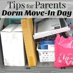 Dorm Move-In Day Tips images