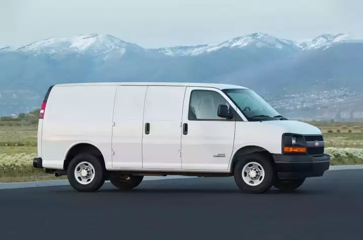 The Chevrolet Express Is An Old School Work Van That Gets The Job