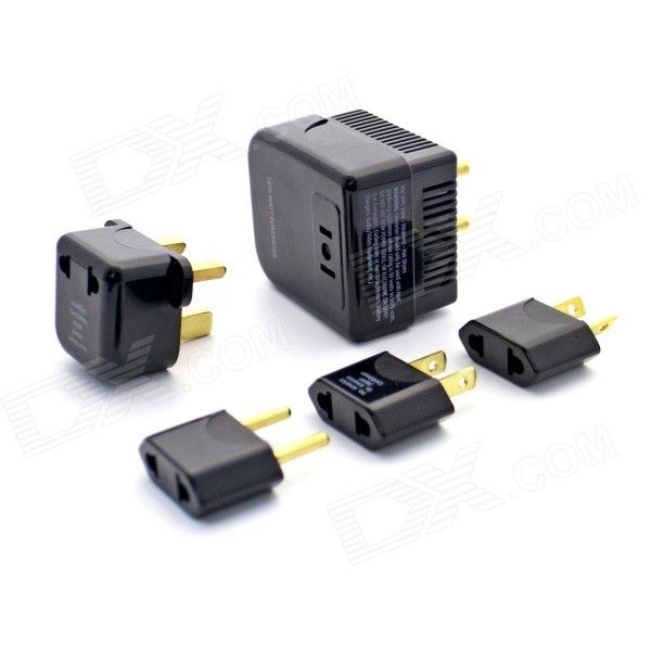 Soshine 50-1875W 220 to 110V Power Transformer w/ Power Adapters