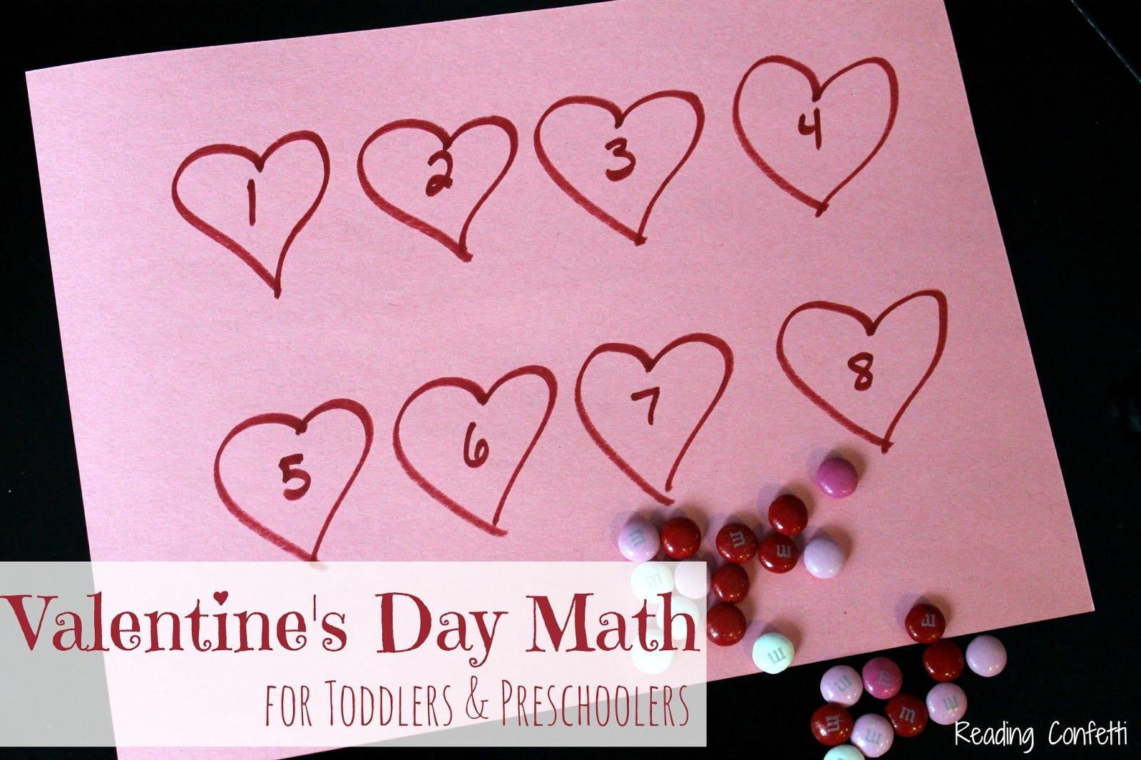 Valentine S Day Math Activities For Toddlers And