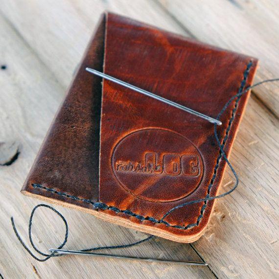 Handstitched Horween Leather Minimalist Card Wallet