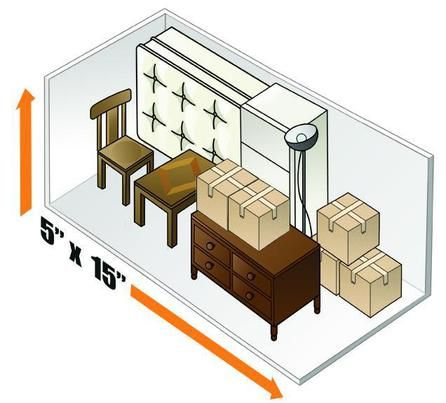 5 X 15 Storage Unit Size Www 145thaurorastorage Com Self Storage Storage Unit Sizes Self Storage Units