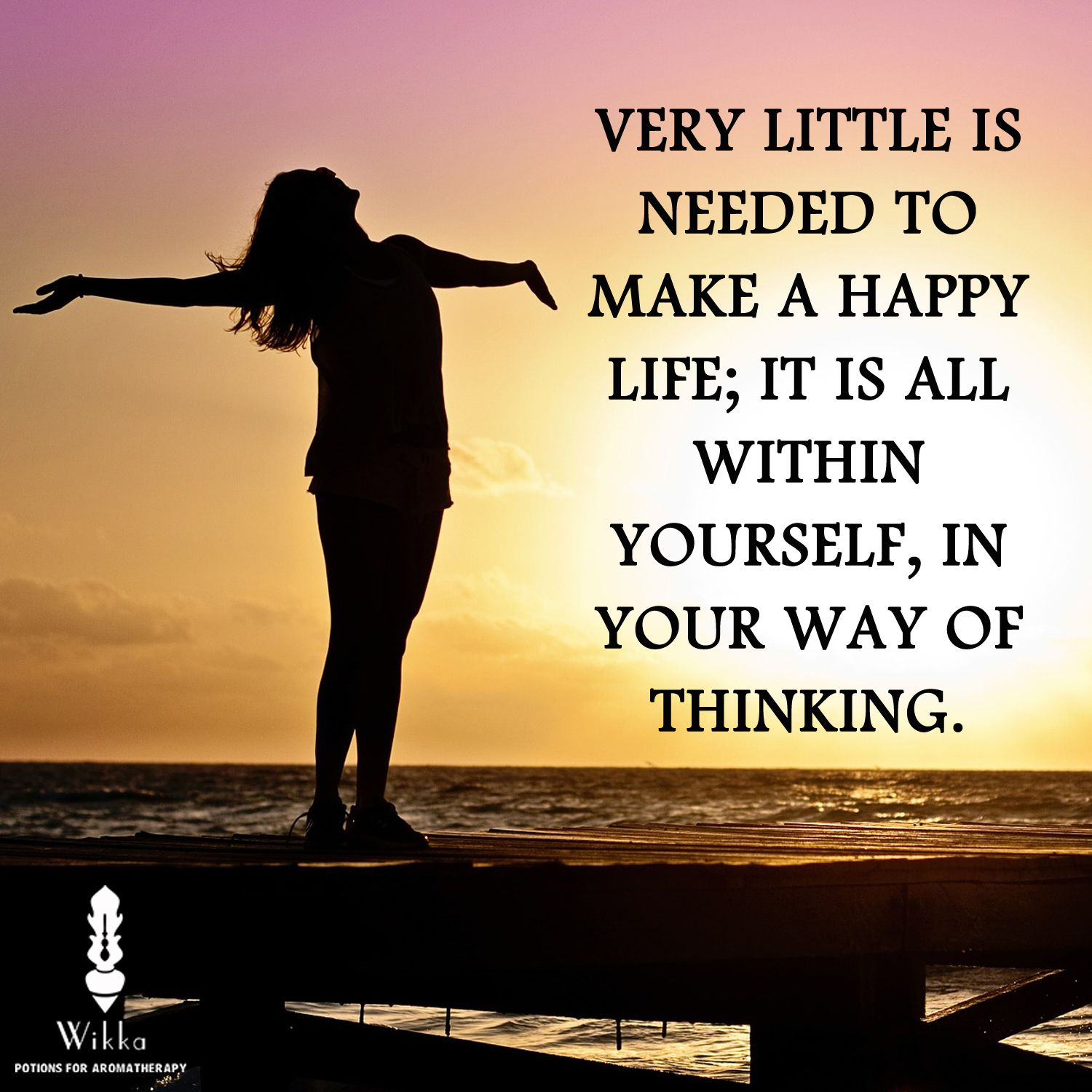 Very little is needed to make a happy life; it is all within yourself, in your way of thinking.  #Quote #Happy #Life #Thought #Friday #Today #GoodMorning #Motivational #Inspire #ThoughtOfTheDay #Love #Like #Follow
