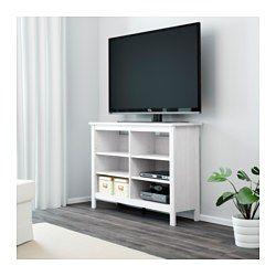 BRUSALI Tv-bord - hvid - IKEA