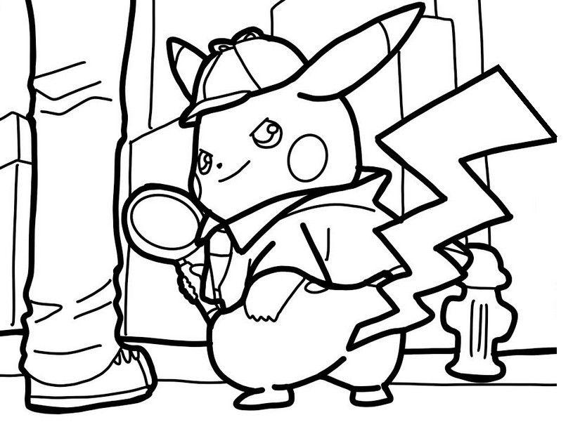 pokemon ausmalbilder wolwerock  ausmalbilder detektiv