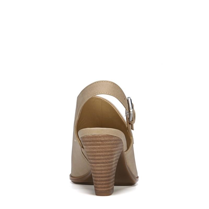 53b61de8015 Naturalizer Women s Takoda Medium Wide Peep Toe Booties (Buff Smooth) -  10.0 W