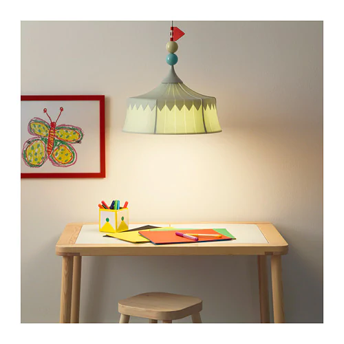 Trollbo Pendant Lamp Light Green Pendant Lamp Lamp Light Ikea Lamp