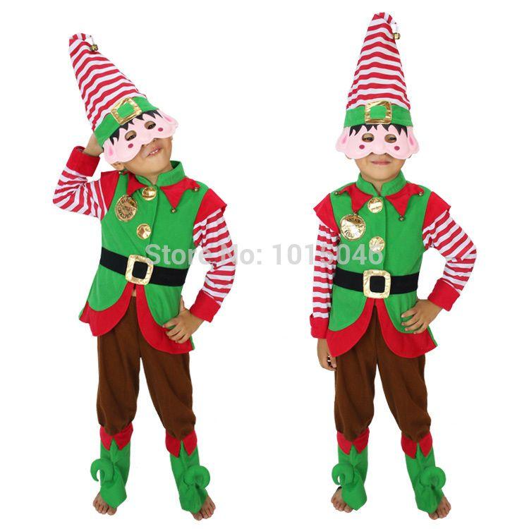 Barato O envio gratuito de 1 conjunto verde Elf menino roupas de natal / crianças vestido de natal / Kid fantasias de papai noel do natal da criança Bodysuit, Compro Qualidade Conjuntos diretamente de fornecedores da China: 2t=80cm 3t=90cm 4=100cm,,,, 6=120cm 4t=110cmfrete grátis 1 duende verde conjunto boy christmas roupas/natal das cr
