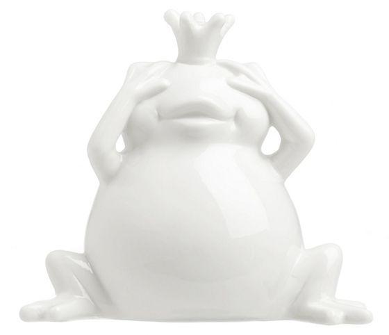 Spardose im Frosch-Design aus Keramik - so macht das Sparen Spaß