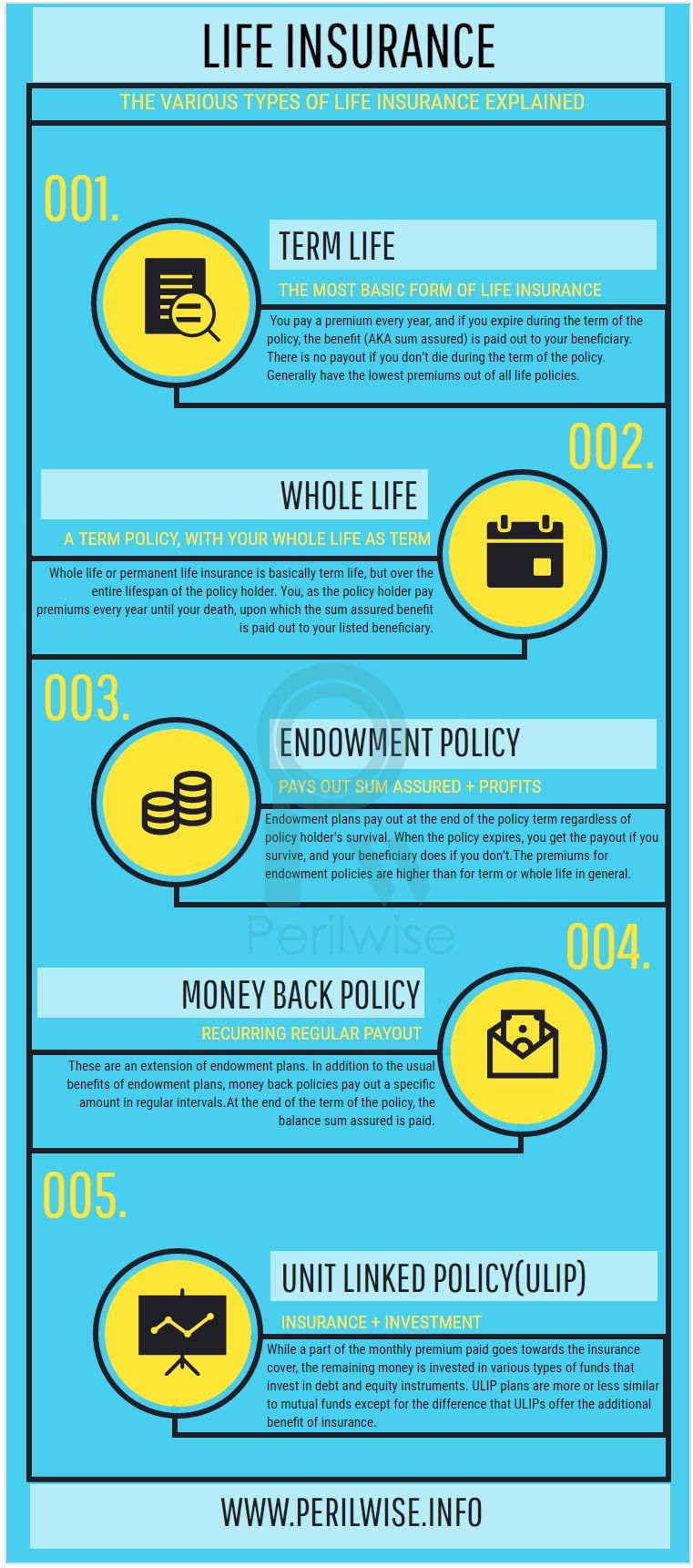 Life Insurance Different Types Term Life Life Insurance