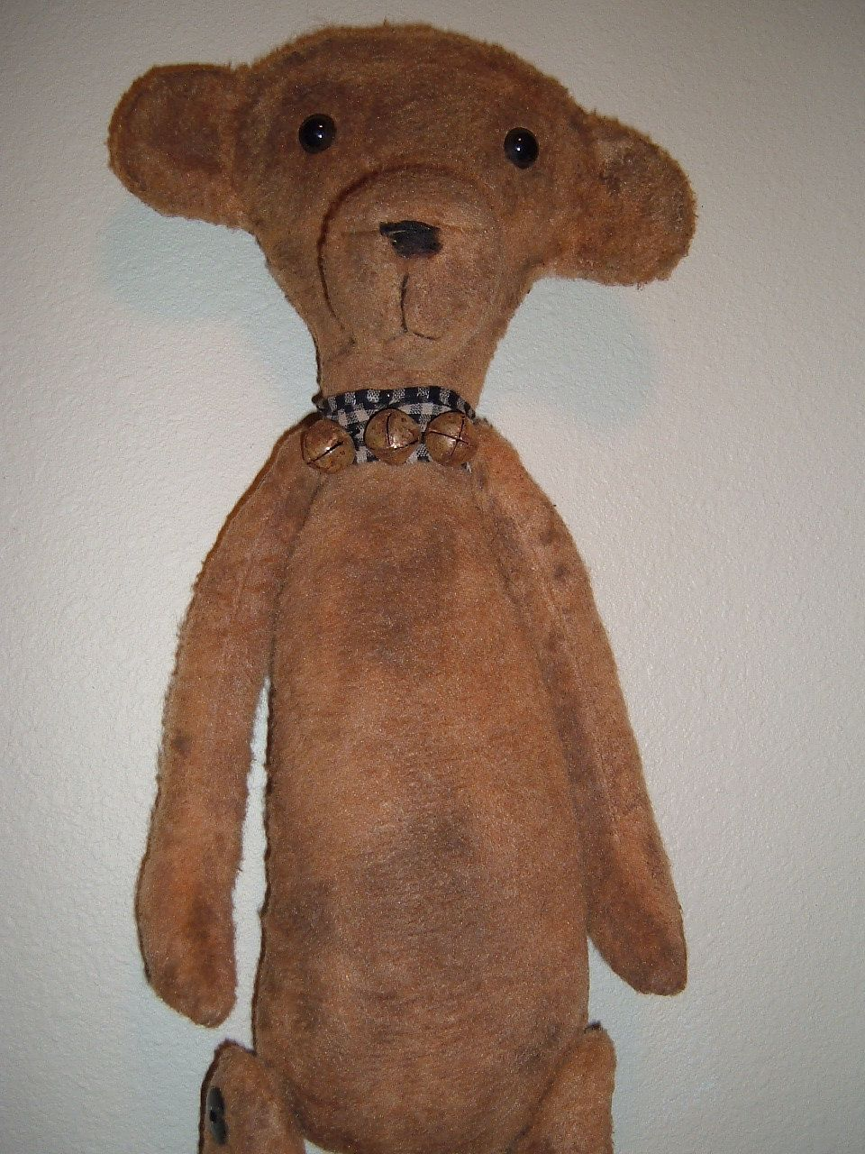 Tea Cup Teddies Primitive Teddy Bear PATTERN HHF309