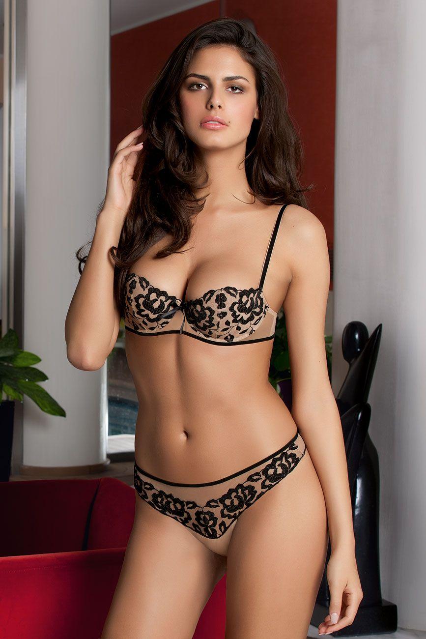 9615a9c4fd lingerie  black  Lise Charmel Antinea(Precieux Desir 2014 AW)