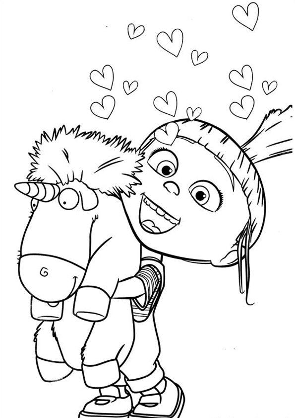 Ausmalbilder Minions 20 Kostenlose Zeichnung