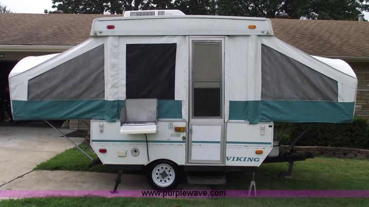 1996 Viking 1706 Pop Up Camper Pop Up Camper Trailer Pop Up