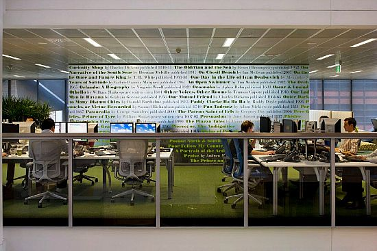 Macquarie Group Sydney Office   Woods Bagot Architects